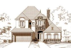 French-Country Style Floor Plans Plan: 19-630