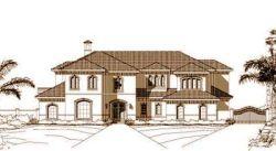 Mediterranean Style House Plans Plan: 19-644
