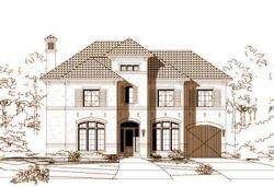 Mediterranean Style Home Design Plan: 19-649