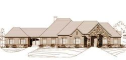 French-Country Style Floor Plans Plan: 19-653