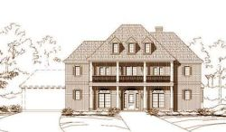 Plantation Style Home Design Plan: 19-655