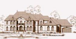 European Style House Plans Plan: 19-658