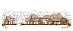 French-Country Style House Plans Plan: 19-660