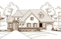 French-Country Style Floor Plans Plan: 19-669