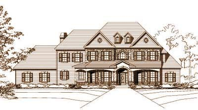 Traditional Style Floor Plans Plan: 19-678