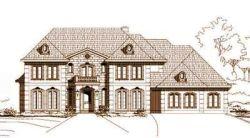 European Style House Plans Plan: 19-686