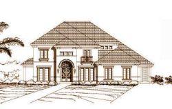 Mediterranean Style House Plans Plan: 19-690