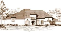 Mediterranean Style Floor Plans Plan: 19-691