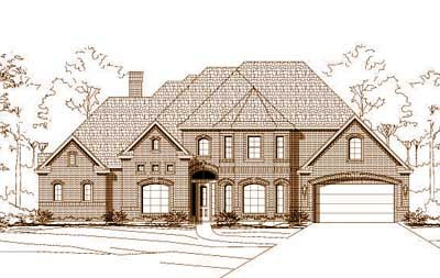 Traditional Style Floor Plans Plan: 19-692