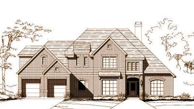 Traditional Style Floor Plans Plan: 19-712