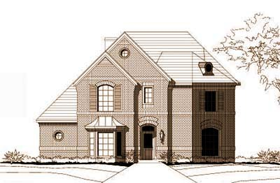 Traditional Style Floor Plans Plan: 19-714
