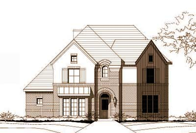 Traditional Style Floor Plans Plan: 19-715