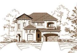 Mediterranean Style House Plans Plan: 19-717