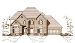 Traditional Style Home Design Plan: 19-726