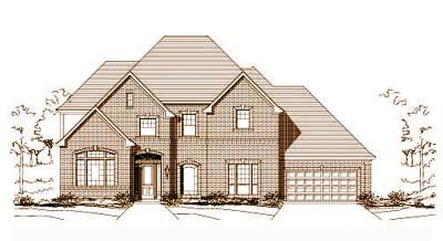 Traditional Style House Plans Plan: 19-727