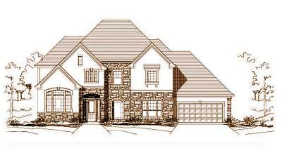 Traditional Style Floor Plans Plan: 19-729