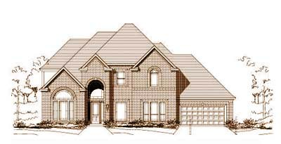 Traditional Style Floor Plans Plan: 19-730