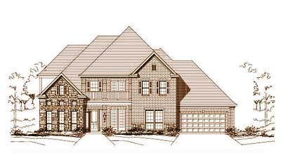 Traditional Style Home Design Plan: 19-731
