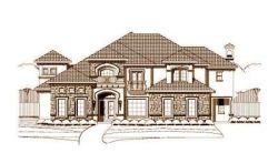 Tuscan Style Home Design Plan: 19-752