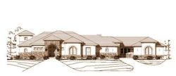 Tuscan Style Floor Plans Plan: 19-753