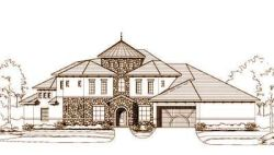 Tuscan Style House Plans Plan: 19-774