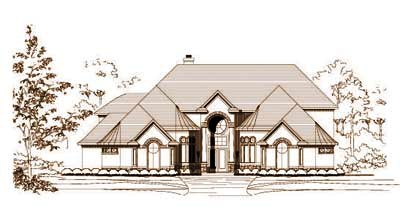 Traditional Style Floor Plans Plan: 19-778