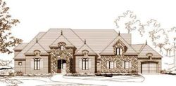 French-Country Style Floor Plans Plan: 19-787