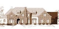 French-Country Style House Plans Plan: 19-788