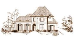 Traditional Style Home Design Plan: 19-797