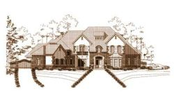 French-Country Style House Plans Plan: 19-798