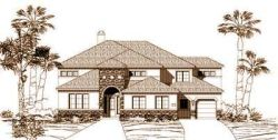 Tuscan Style House Plans Plan: 19-820