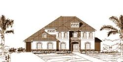Mediterranean Style House Plans Plan: 19-824