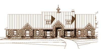 Country Style Floor Plans Plan: 19-827