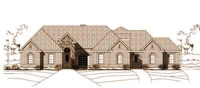 Traditional Style Floor Plans Plan: 19-834
