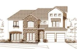 Tuscan Style Home Design Plan: 19-837