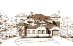 Mediterranean Style House Plans Plan: 19-848