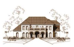 Traditional Style Floor Plans Plan: 19-849