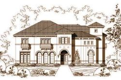 Mediterranean Style House Plans Plan: 19-870