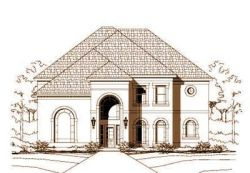 Traditional Style Home Design Plan: 19-884