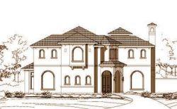 Mediterranean Style House Plans Plan: 19-904