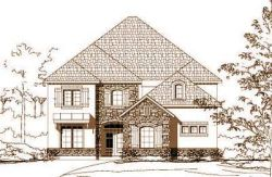 French-Country Style Home Design Plan: 19-911
