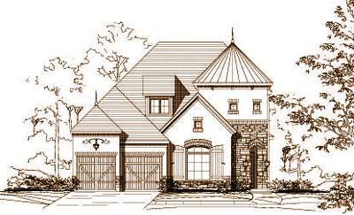 Tuscan Style Floor Plans Plan: 19-912