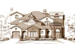 French-Country Style Home Design Plan: 19-916