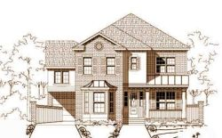 Traditional Style Home Design Plan: 19-941
