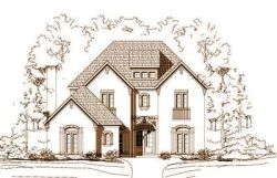 French-Country Style House Plans Plan: 19-944