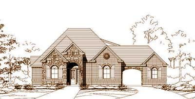 Traditional Style House Plans Plan: 19-948