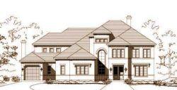 Mediterranean Style Home Design Plan: 19-955