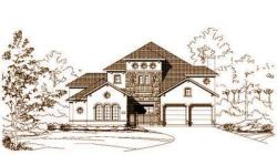 Tuscan Style House Plans Plan: 19-966