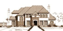 Traditional Style Home Design Plan: 19-967