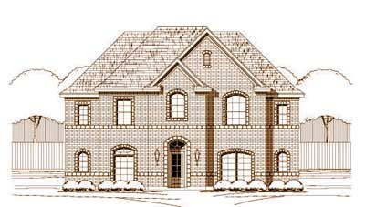 Traditional Style Floor Plans Plan: 19-969